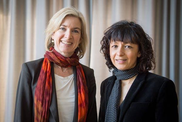 Jennifer A. Doudna și Emmanuelle Charpentier