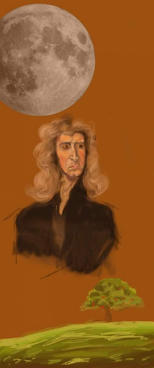 Isaac Newton a introdus teoria particulelor
