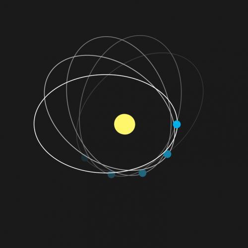 Relativitatea generală a prezis usoara rotație a orbitei lui Mercur