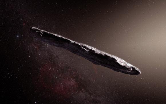 Obiectul interstelar Oumuamua