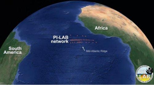Seismometrele din Oceanul Atlantic