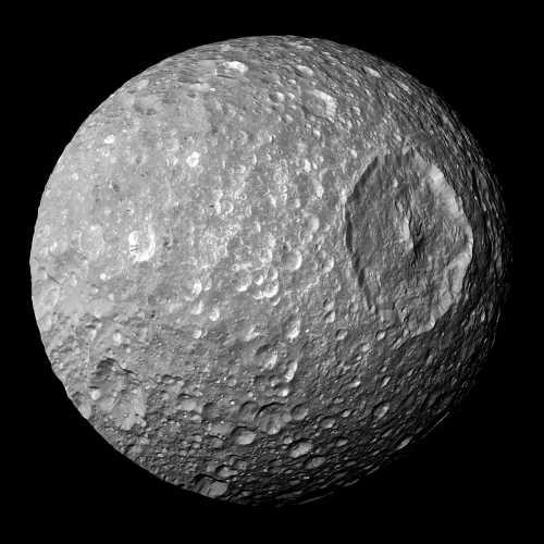 Mimas, luna lui Saturn